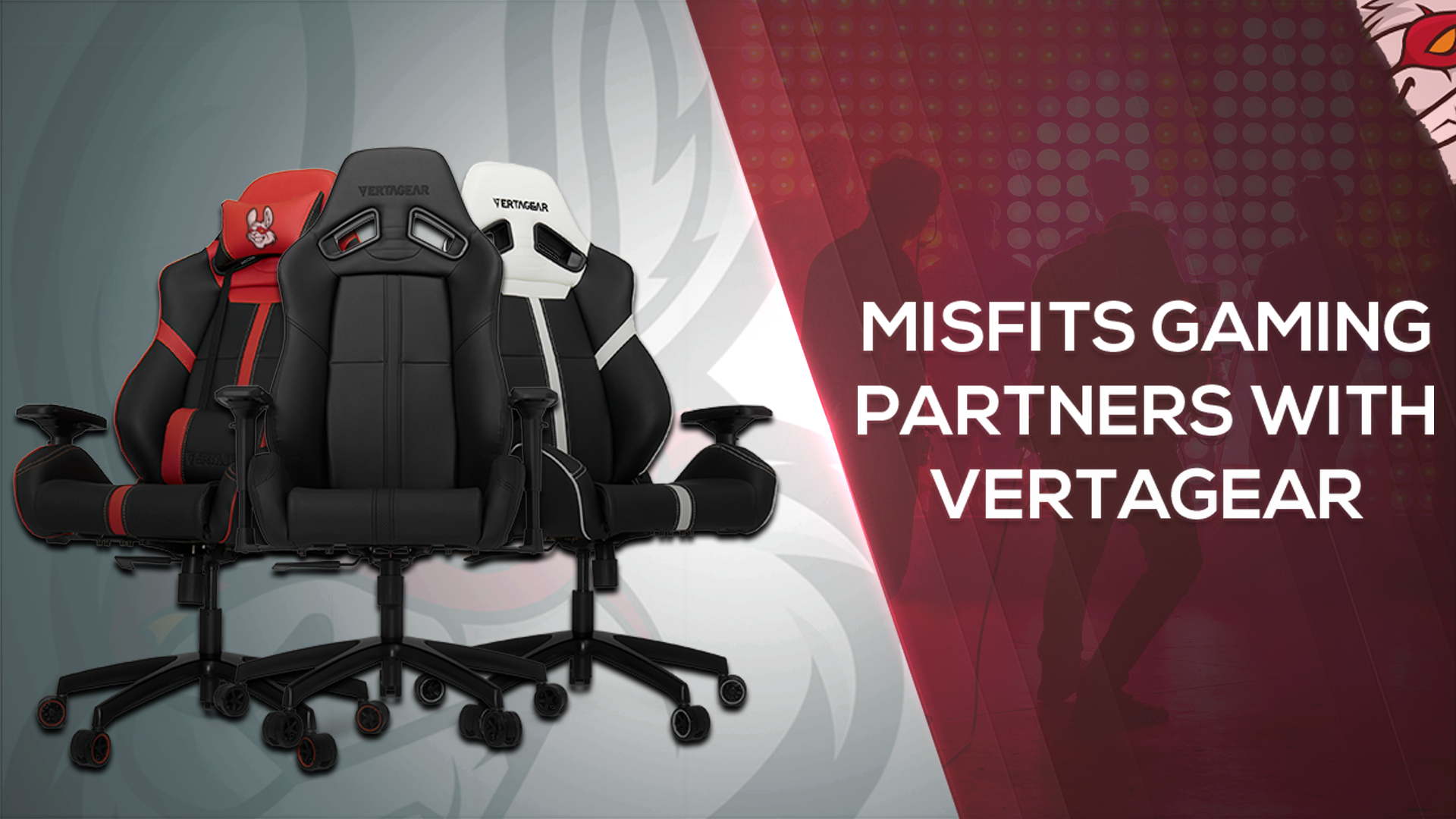 Phenomenal Misfits Gaming Partner With Vertagear Misfits Ibusinesslaw Wood Chair Design Ideas Ibusinesslaworg