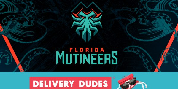 Florida Mutineers team up with Delivery Dudes for the Florida Call of Duty League Home Series Weekend